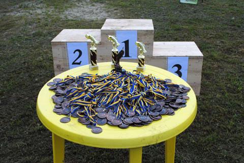 Нагороди учасникам змагань у Звенигороді