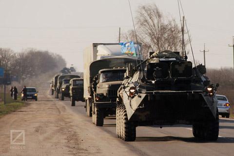 Українські війська на марші